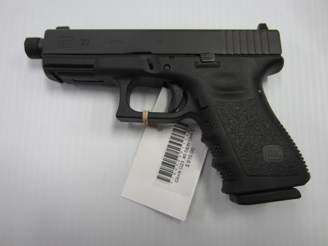 Glock 23 Gen 3 Threaded Barrel .40S&W